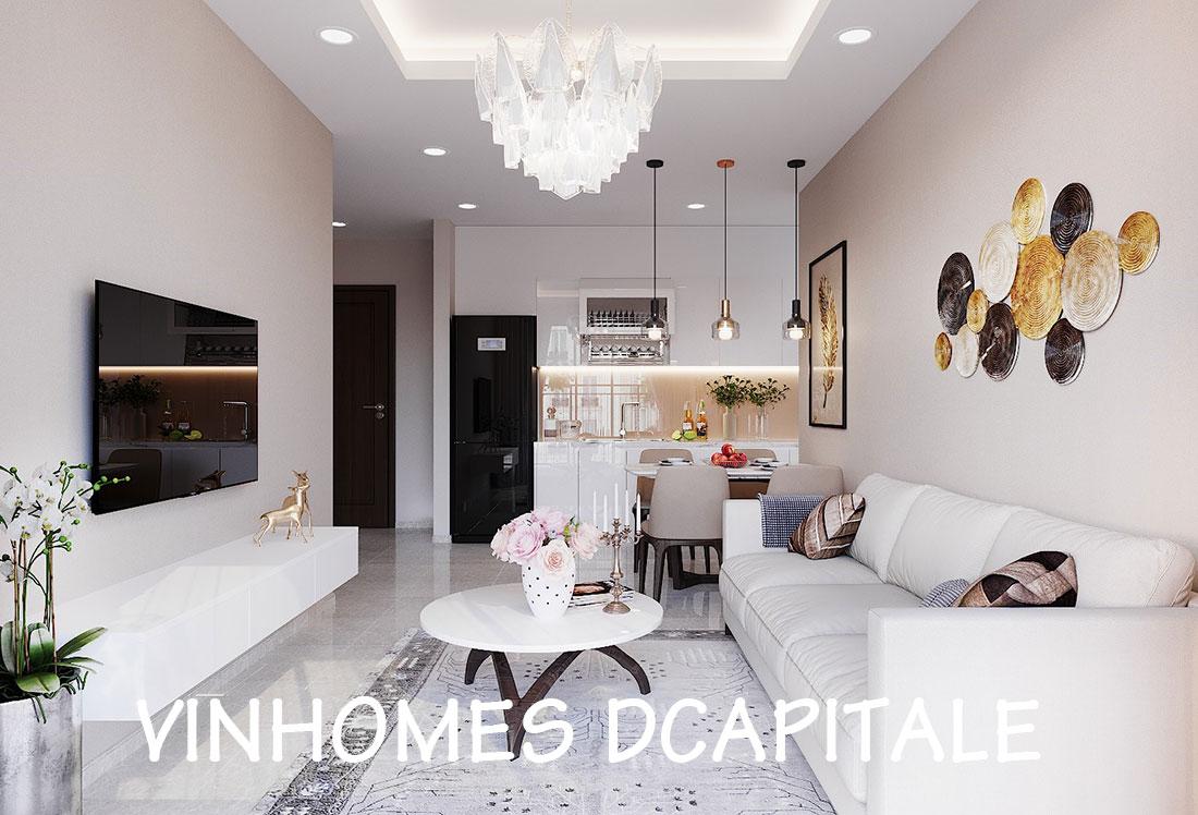 Nội thất chung cư Vinhomes Dcapitale phong cách hiện đại – chị Hằng