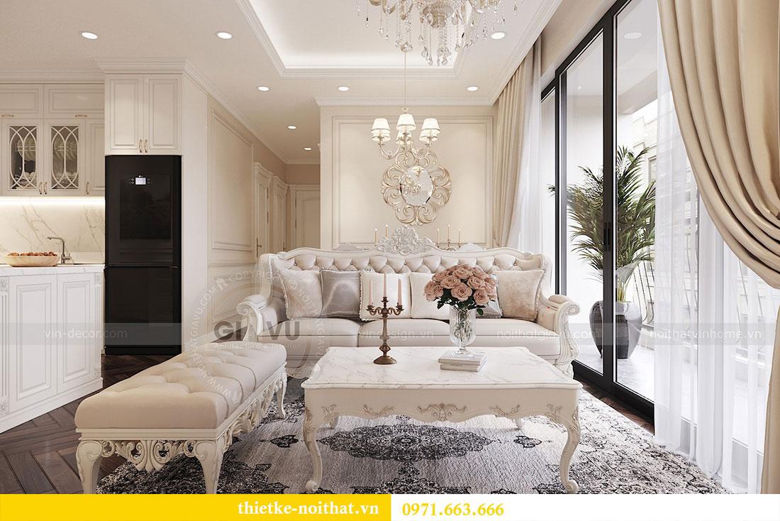 Khám phá thiết kế nội thất căn hộ chung cư 85m2 tại dự án Dcapitale 5