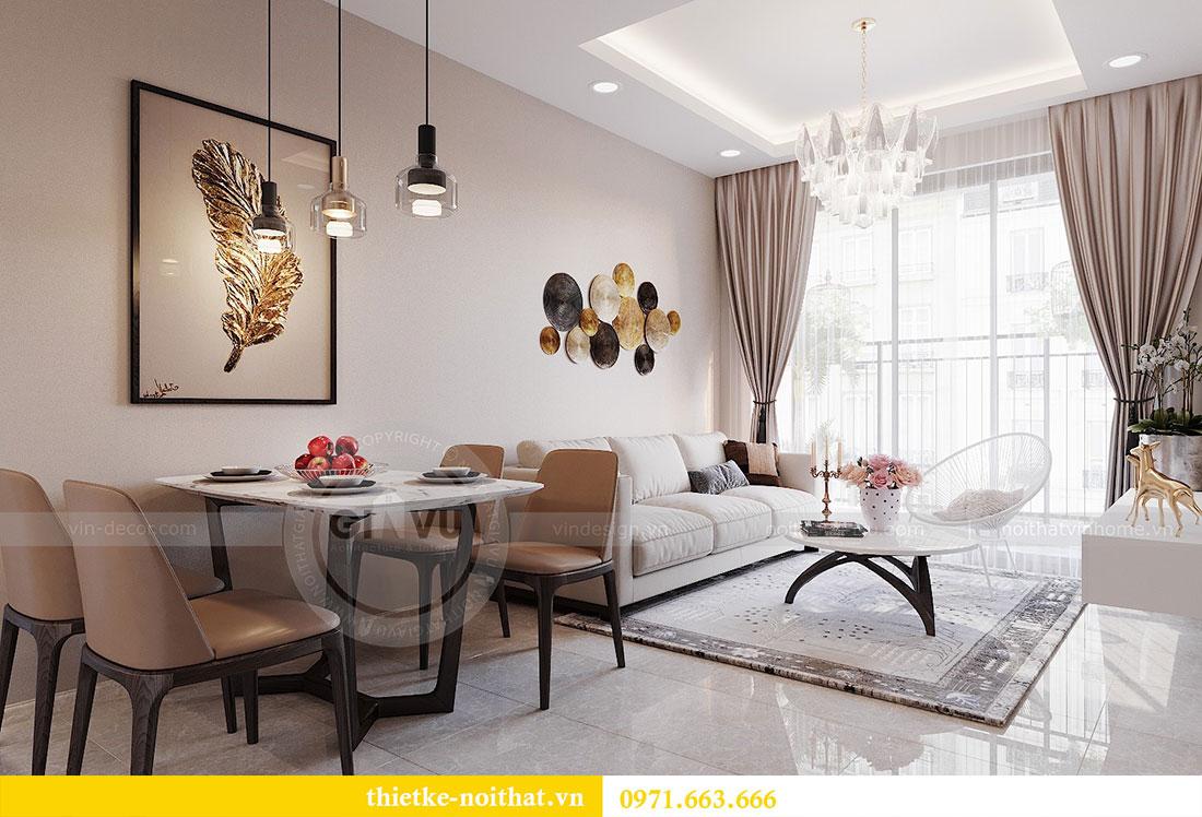 Nội thất chung cư Vinhomes Dcapitale phong cách hiện đại - chị Hằng 4