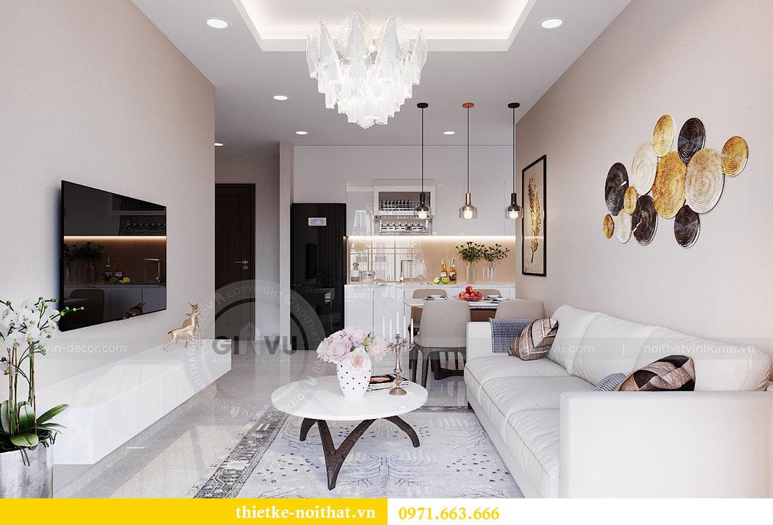 Nội thất chung cư Vinhomes Dcapitale phong cách hiện đại - chị Hằng 5