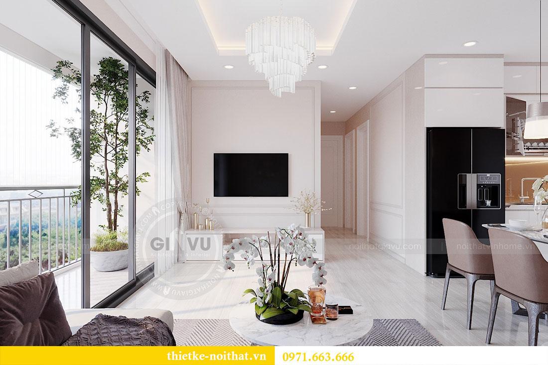 Thiết kế nội thất căn 2 phòng ngủ tại Vinhomes Dcapitale - chị Minh 4