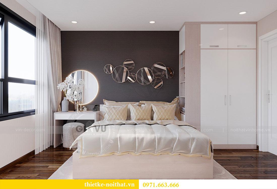 Thiết kế nội thất căn 2 phòng ngủ tại Vinhomes Dcapitale - chị Minh 5