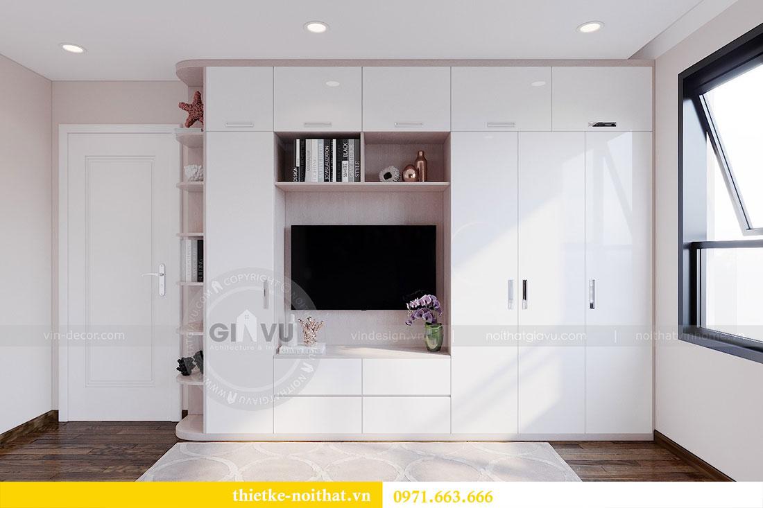 Thiết kế nội thất căn 2 phòng ngủ tại Vinhomes Dcapitale - chị Minh 6