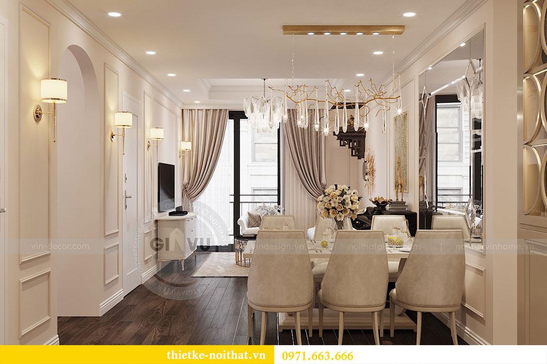 Thiết kế nội thất chung cư 3 phòng ngủ tại Park Hill - Times City 2