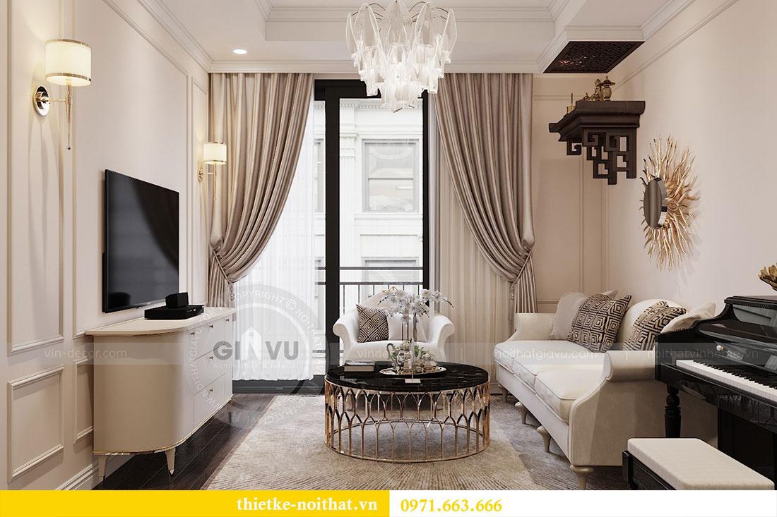 Thiết kế nội thất chung cư 3 phòng ngủ tại Park Hill - Times City 6