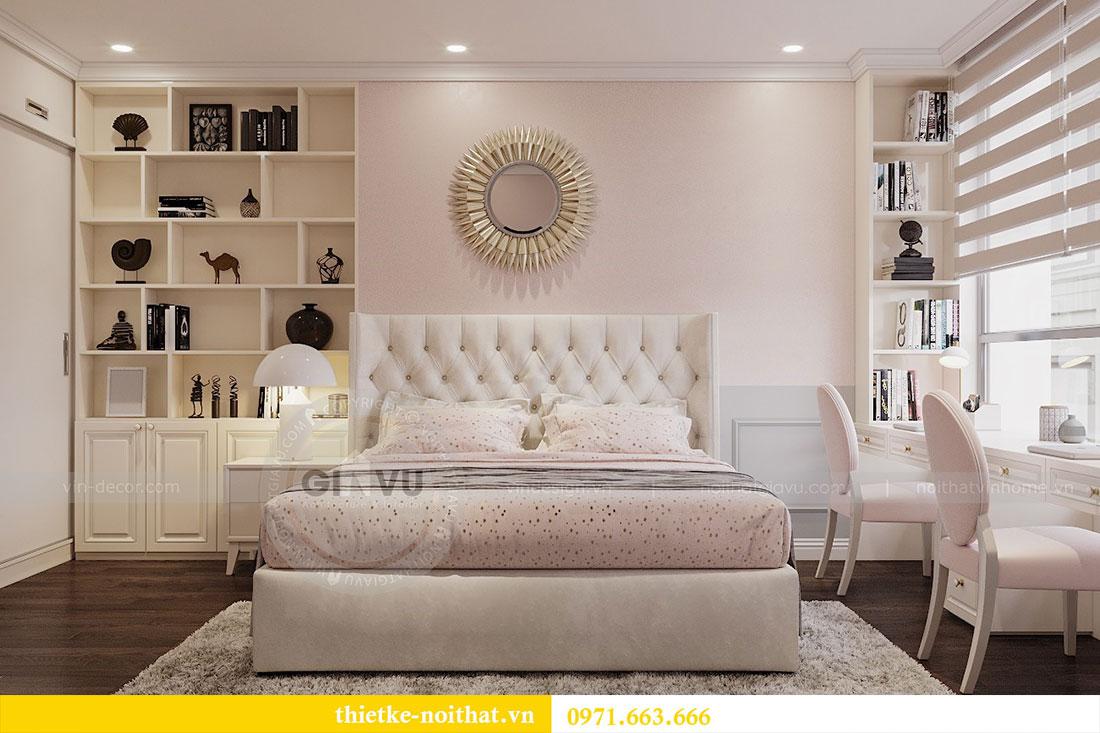 Thiết kế nội thất chung cư 3 phòng ngủ tại Park Hill - Times City 7