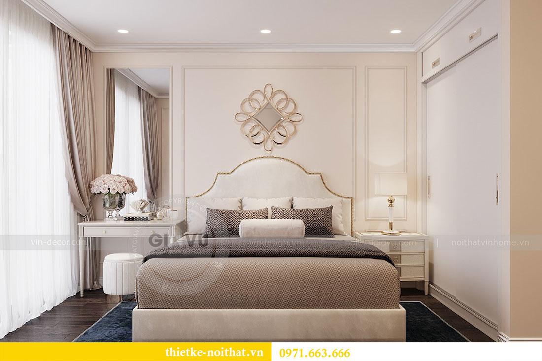 Thiết kế nội thất chung cư 3 phòng ngủ tại Park Hill - Times City 9
