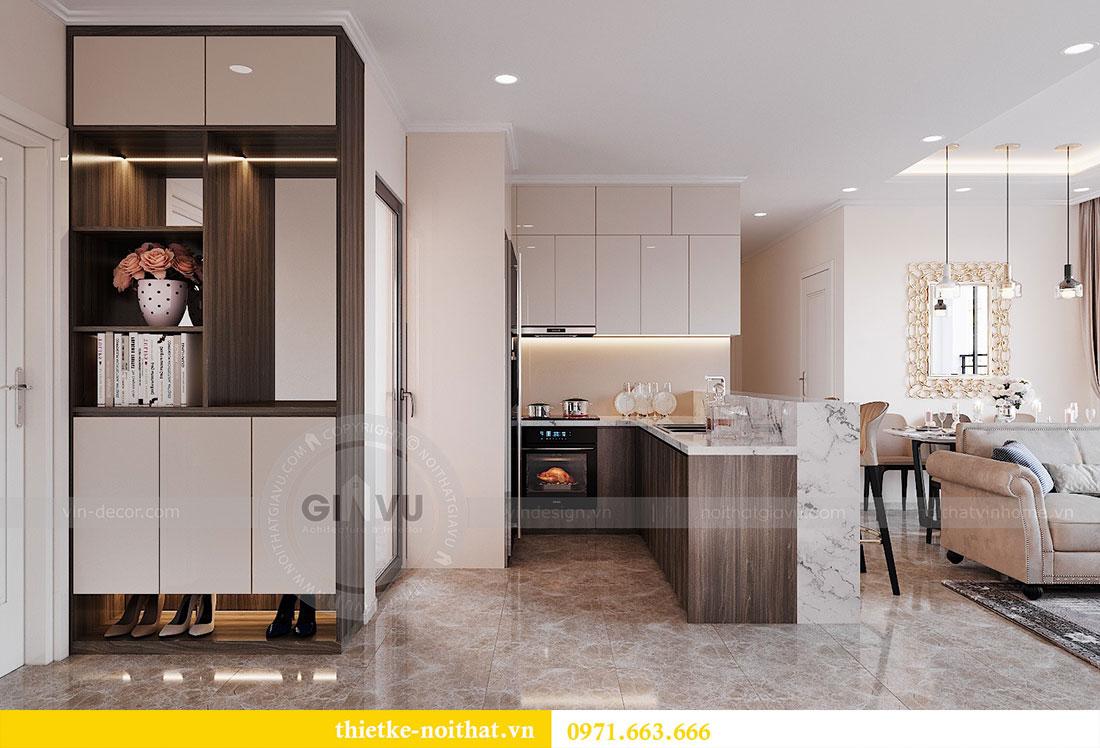 Thiết kế nội thất chung cư Dcapitale căn hộ 83m2 đẹp hiện đại 1