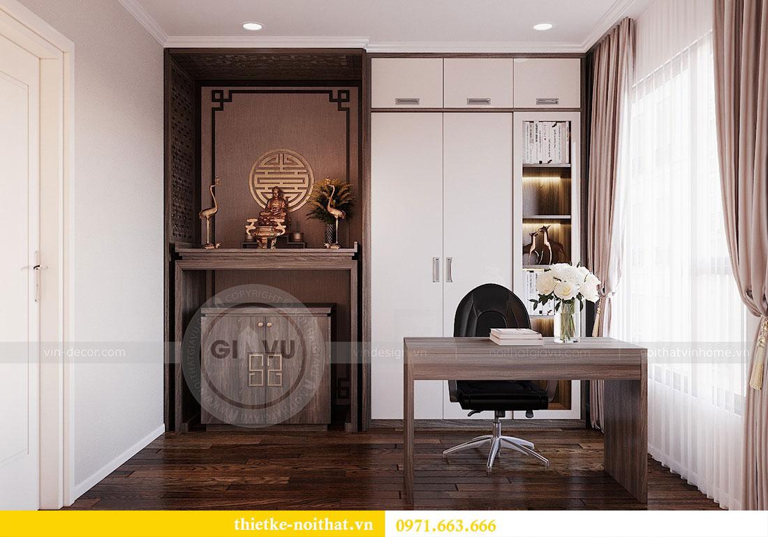 Thiết kế nội thất chung cư Dcapitale căn hộ 83m2 đẹp hiện đại 10