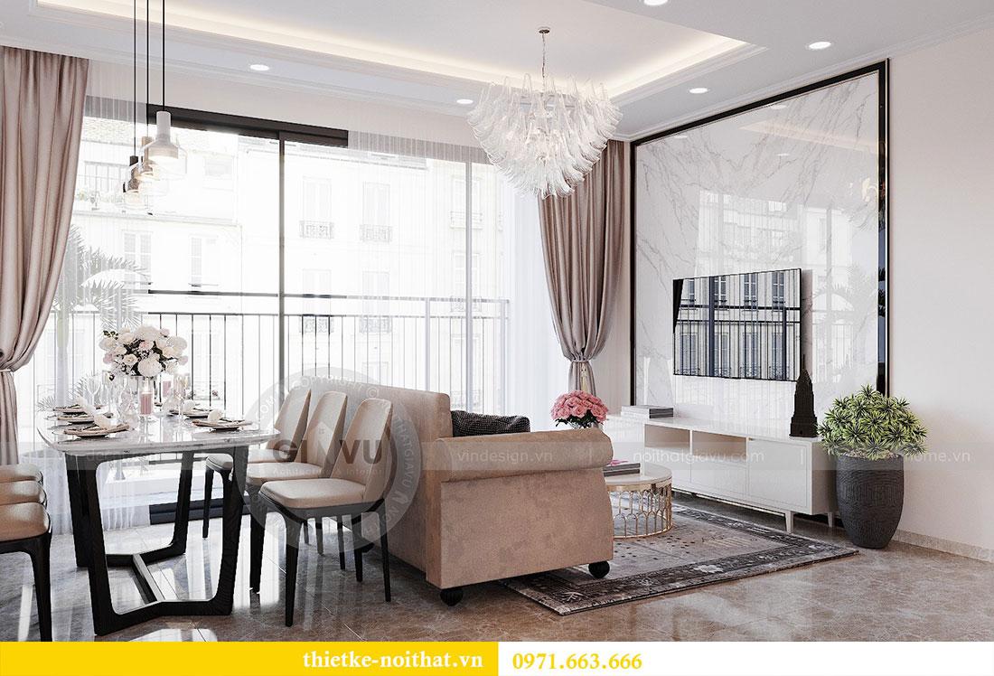 Thiết kế nội thất chung cư Dcapitale căn hộ 83m2 đẹp hiện đại 4