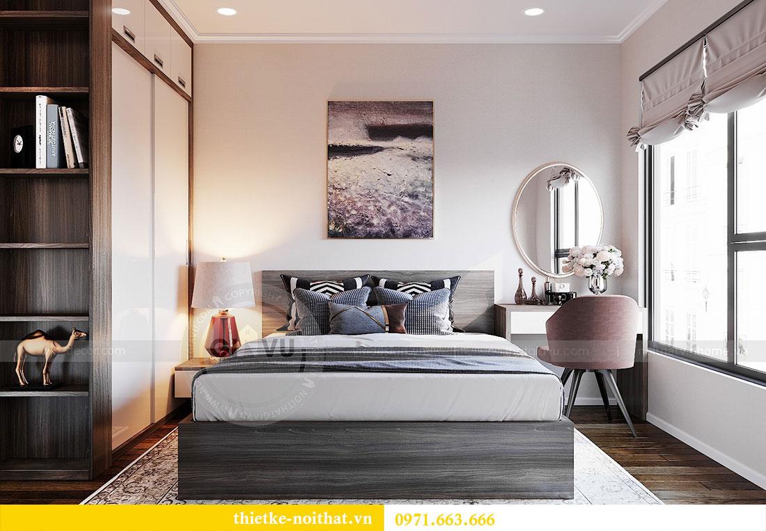 Thiết kế nội thất chung cư Dcapitale căn hộ 83m2 đẹp hiện đại 6