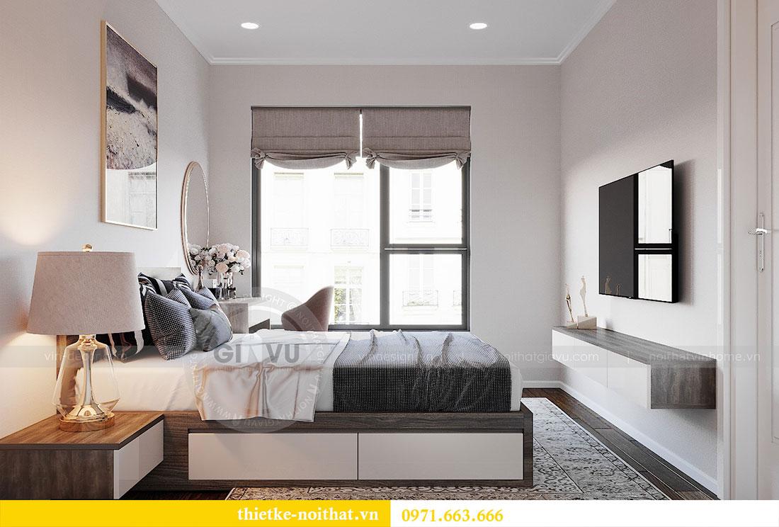 Thiết kế nội thất chung cư Dcapitale căn hộ 83m2 đẹp hiện đại 7