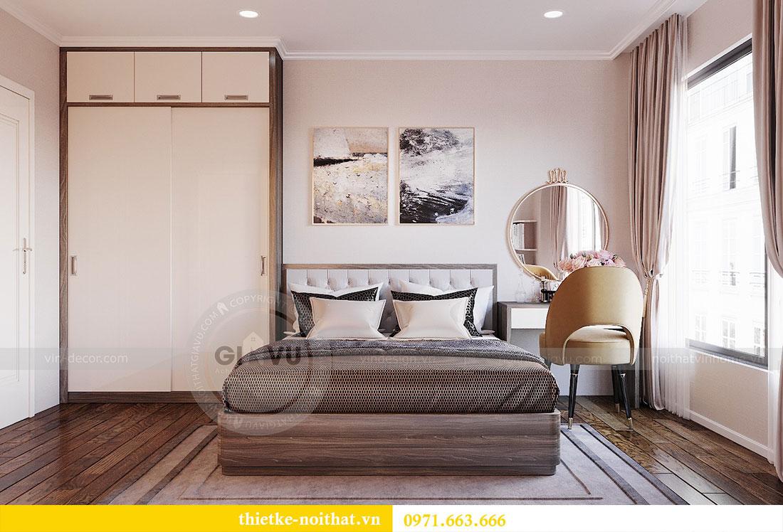 Thiết kế nội thất chung cư Dcapitale căn hộ 83m2 đẹp hiện đại 8