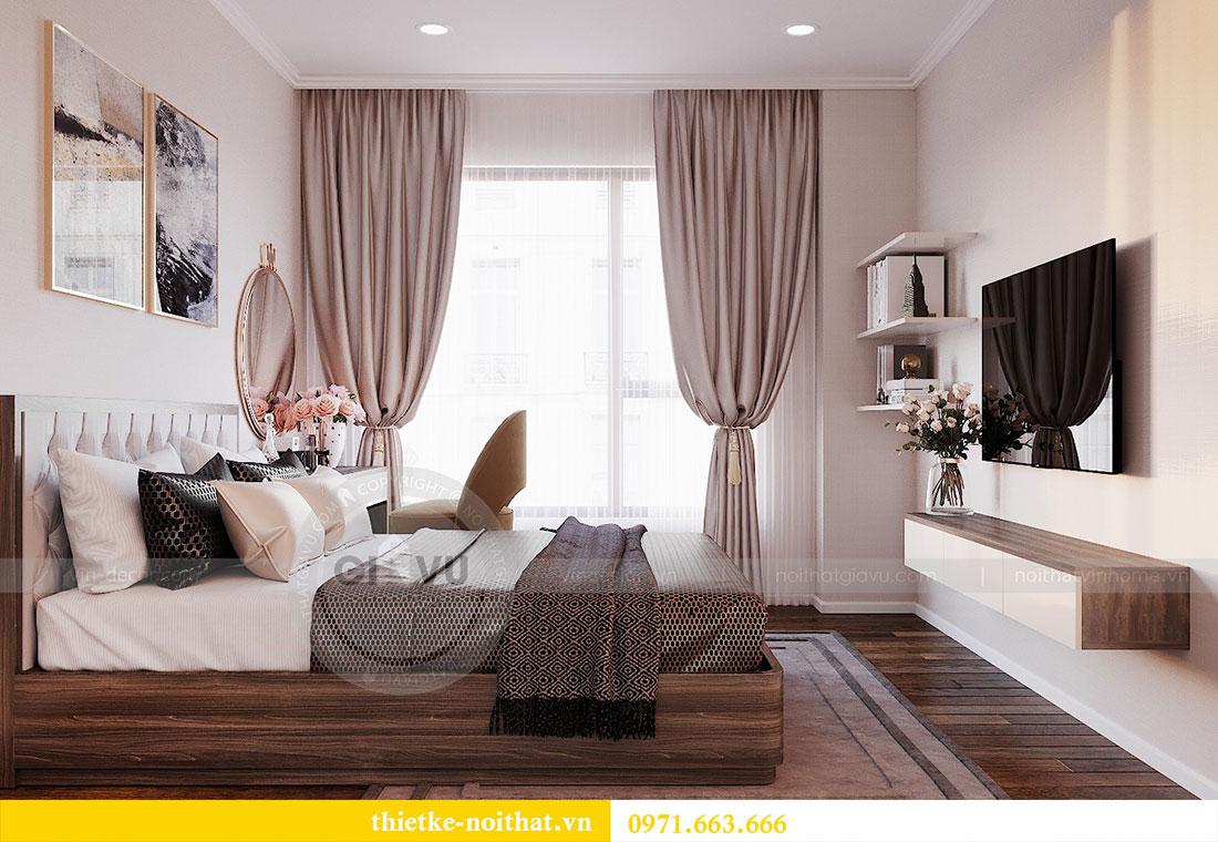 Thiết kế nội thất chung cư Dcapitale căn hộ 83m2 đẹp hiện đại 9