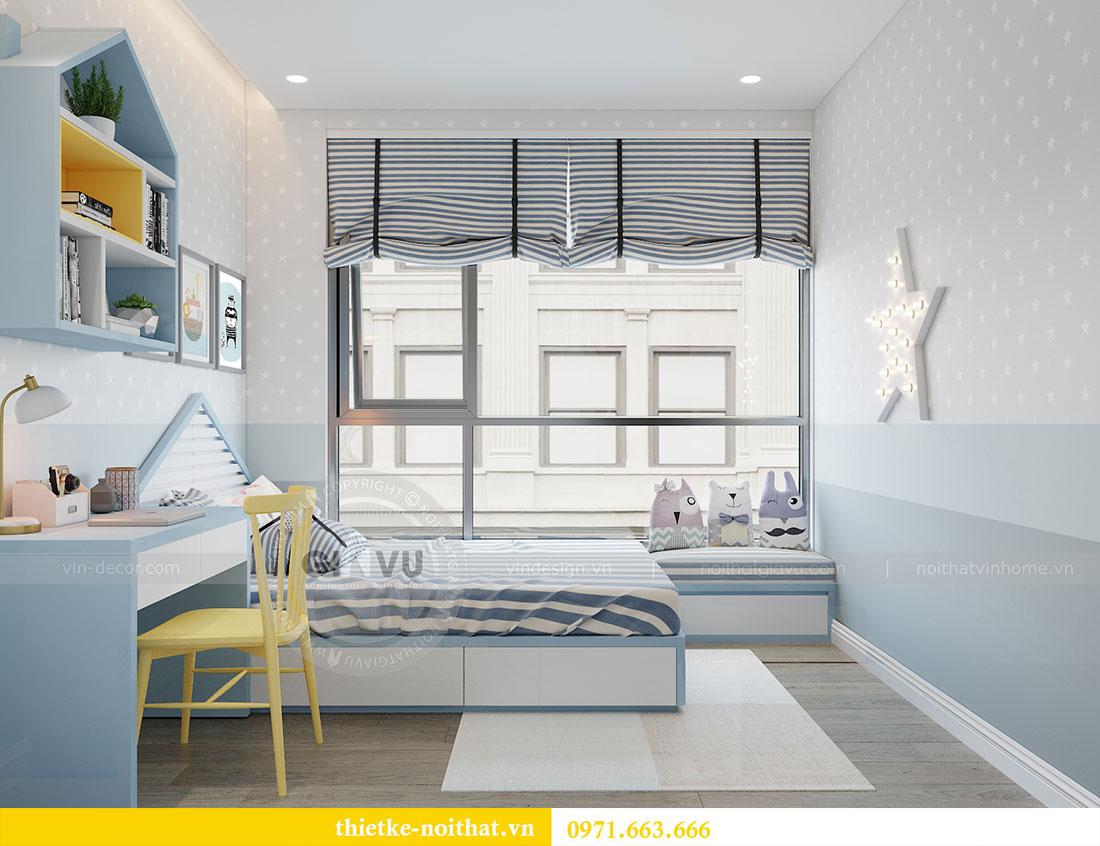 Thiết kế nội thất chung cư Metropolis căn 3 ngủ đẹp với gỗ Hương 10