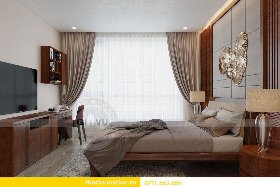 Thiết kế nội thất chung cư Metropolis căn 3 ngủ đẹp với gỗ Hương 6