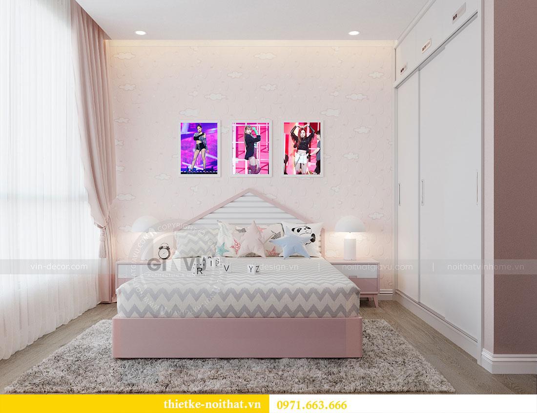 Thiết kế nội thất chung cư Metropolis căn 3 ngủ đẹp với gỗ Hương 7