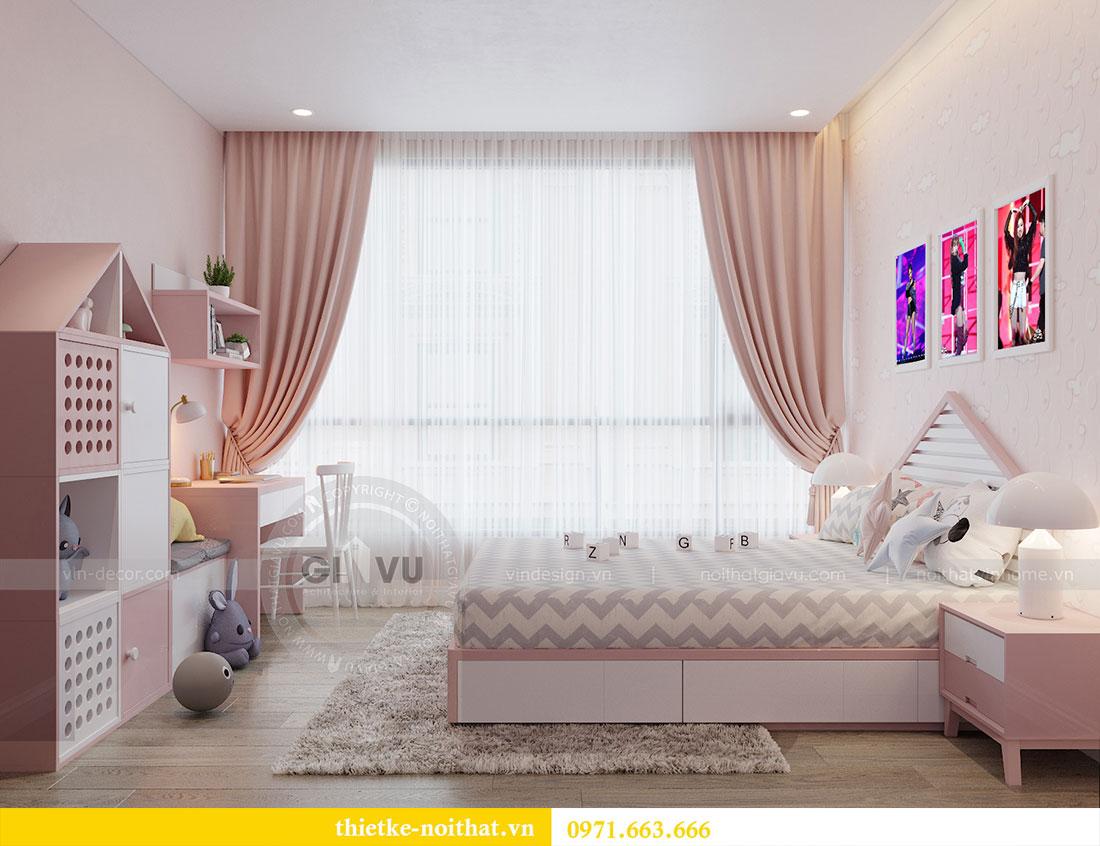 Thiết kế nội thất chung cư Metropolis căn 3 ngủ đẹp với gỗ Hương 8
