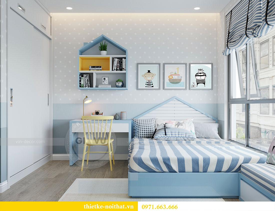 Thiết kế nội thất chung cư Metropolis căn 3 ngủ đẹp với gỗ Hương 9