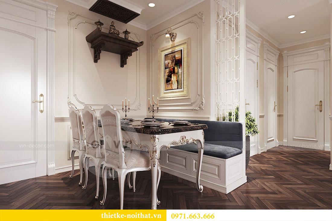 Thiết kế thi công nội thất căn hộ cao cấp Vinhomes Green Bay - chị Yến 4