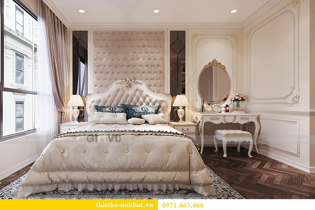 Thiết kế thi công nội thất căn hộ cao cấp Vinhomes Green Bay - chị Yến 7
