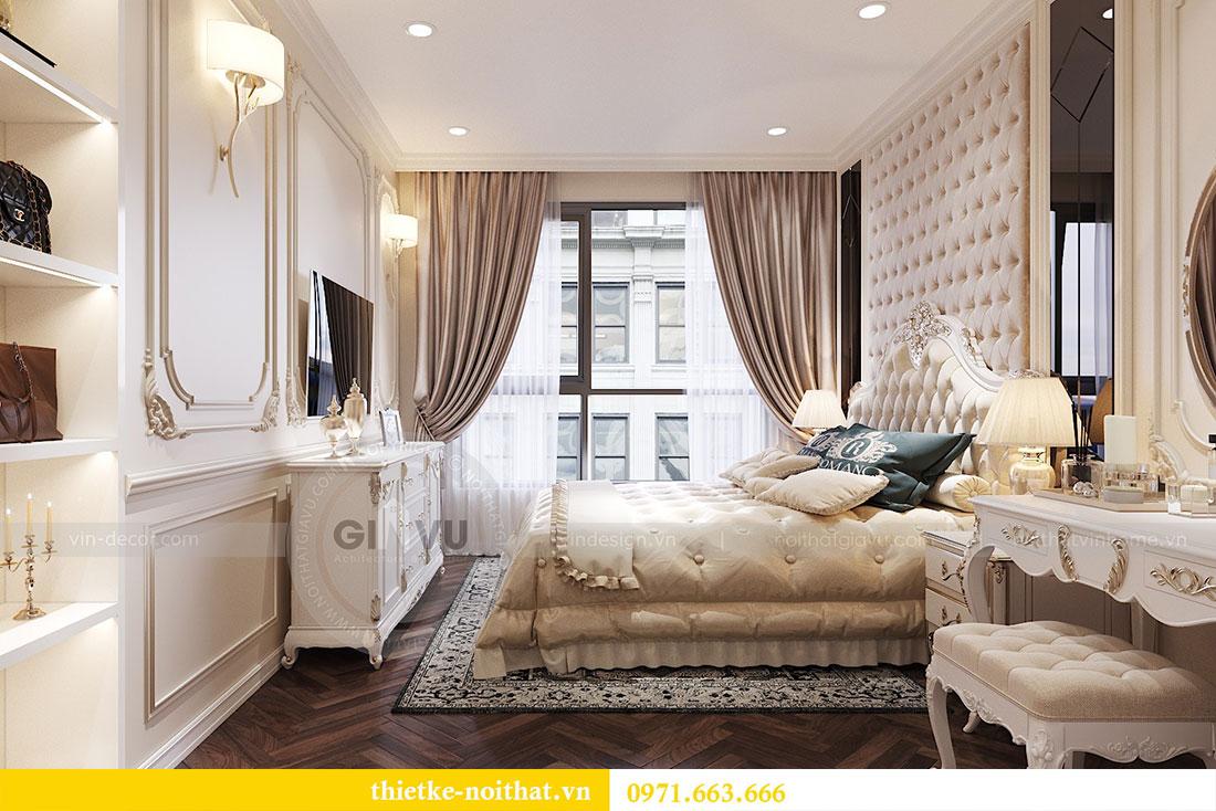 Thiết kế thi công nội thất căn hộ cao cấp Vinhomes Green Bay - chị Yến 8