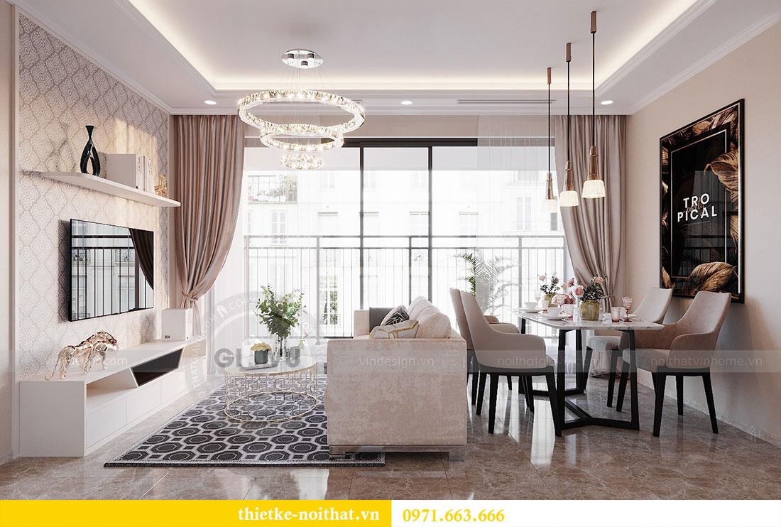 Trải nghiệm không gian nội thất căn 3 phòng ngủ rộng 81m2 2
