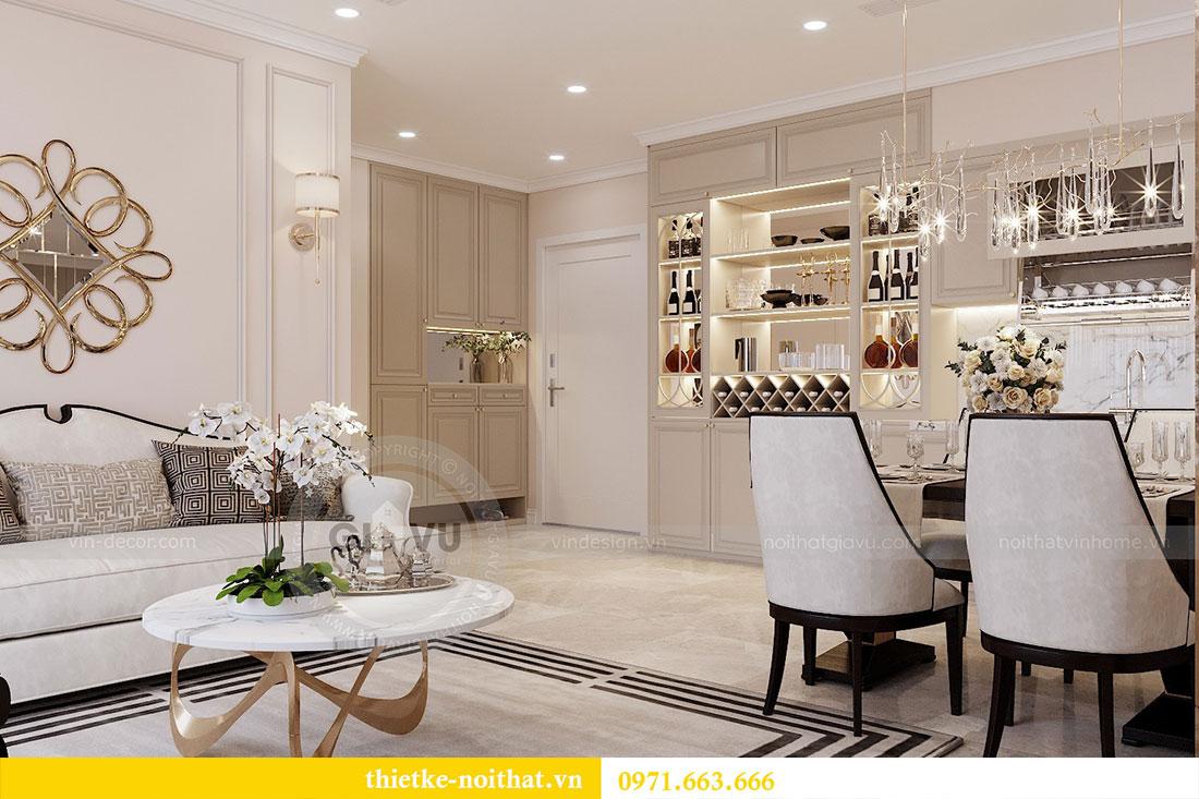 Triển khai thi công nội thất căn hộ chung cư tại Vinhomes Dcapitale 1
