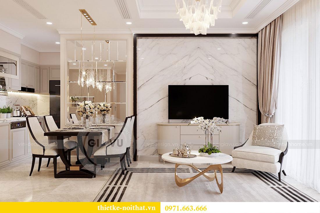 Triển khai thi công nội thất căn hộ chung cư tại Vinhomes Dcapitale 3