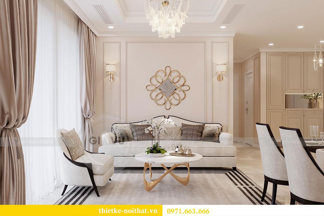 Triển khai thi công nội thất căn hộ chung cư tại Vinhomes Dcapitale 4