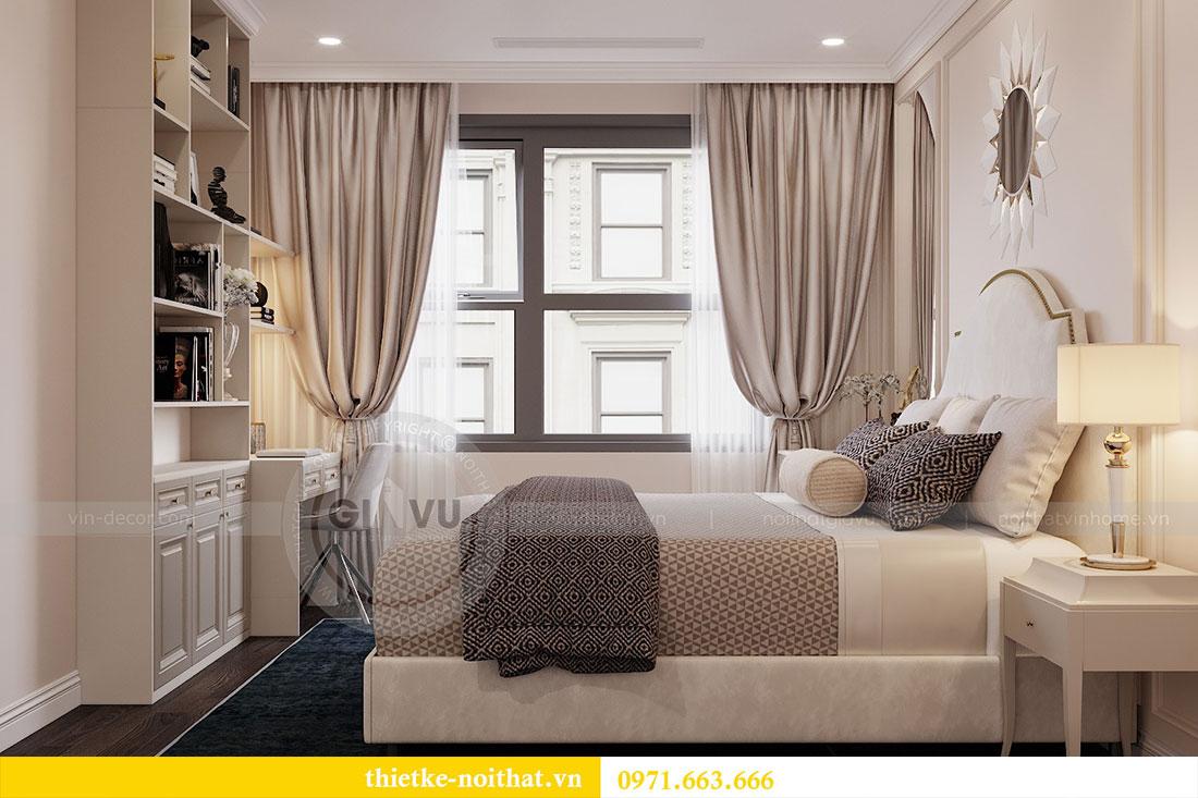 Triển khai thi công nội thất căn hộ chung cư tại Vinhomes Dcapitale 6