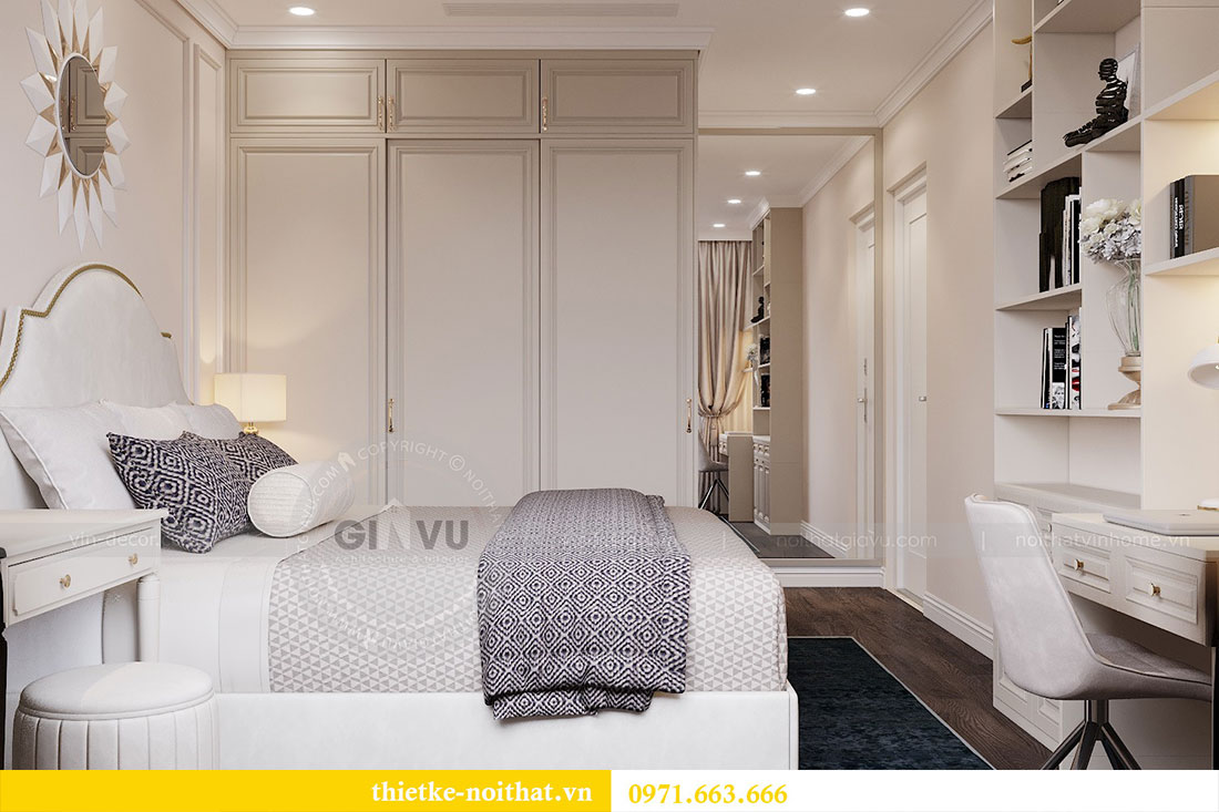 Triển khai thi công nội thất căn hộ chung cư tại Vinhomes Dcapitale 7