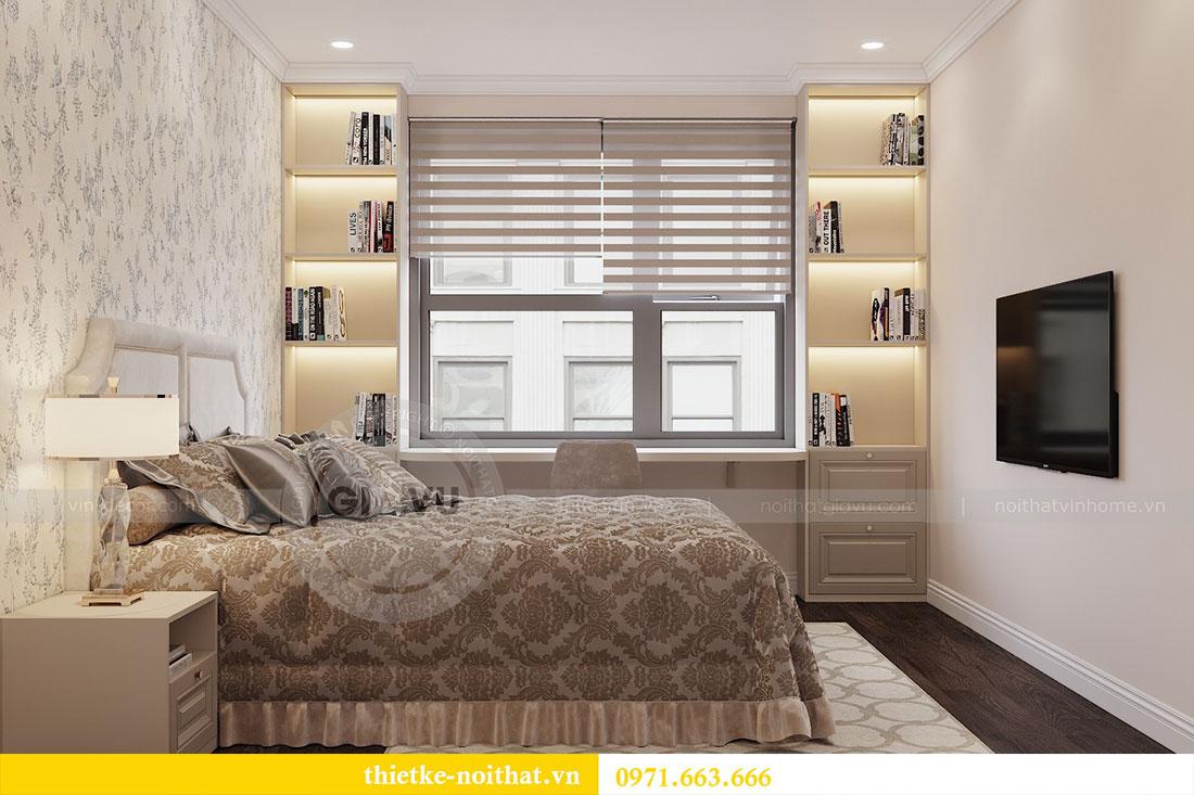 Triển khai thi công nội thất căn hộ chung cư tại Vinhomes Dcapitale 9