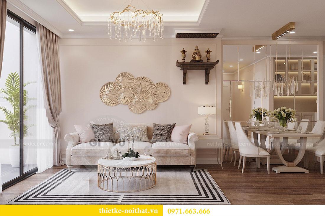 Triển khai thi công nội thất chung cư Skylake căn S10608A - chị Trang 2