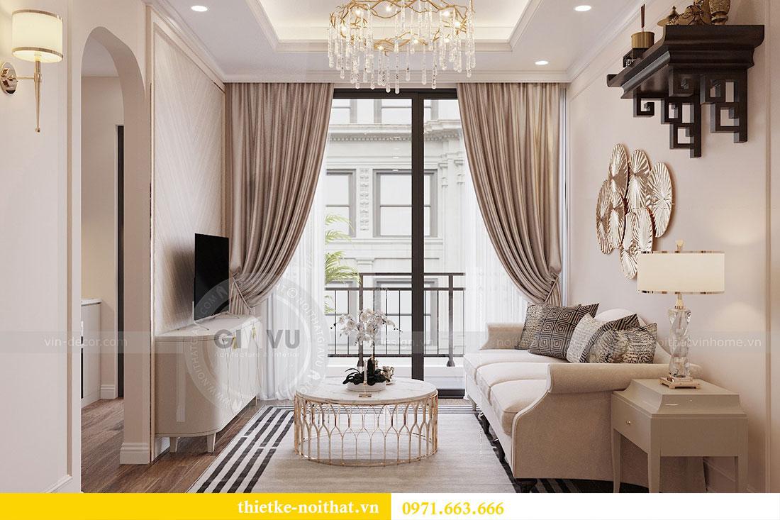 Triển khai thi công nội thất chung cư Skylake căn S10608A - chị Trang 4