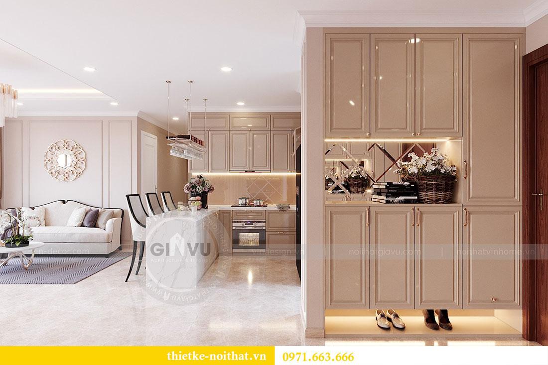 Mẫu thiết kế nội thất chung cư căn hộ 3 PN vạn người mê 1