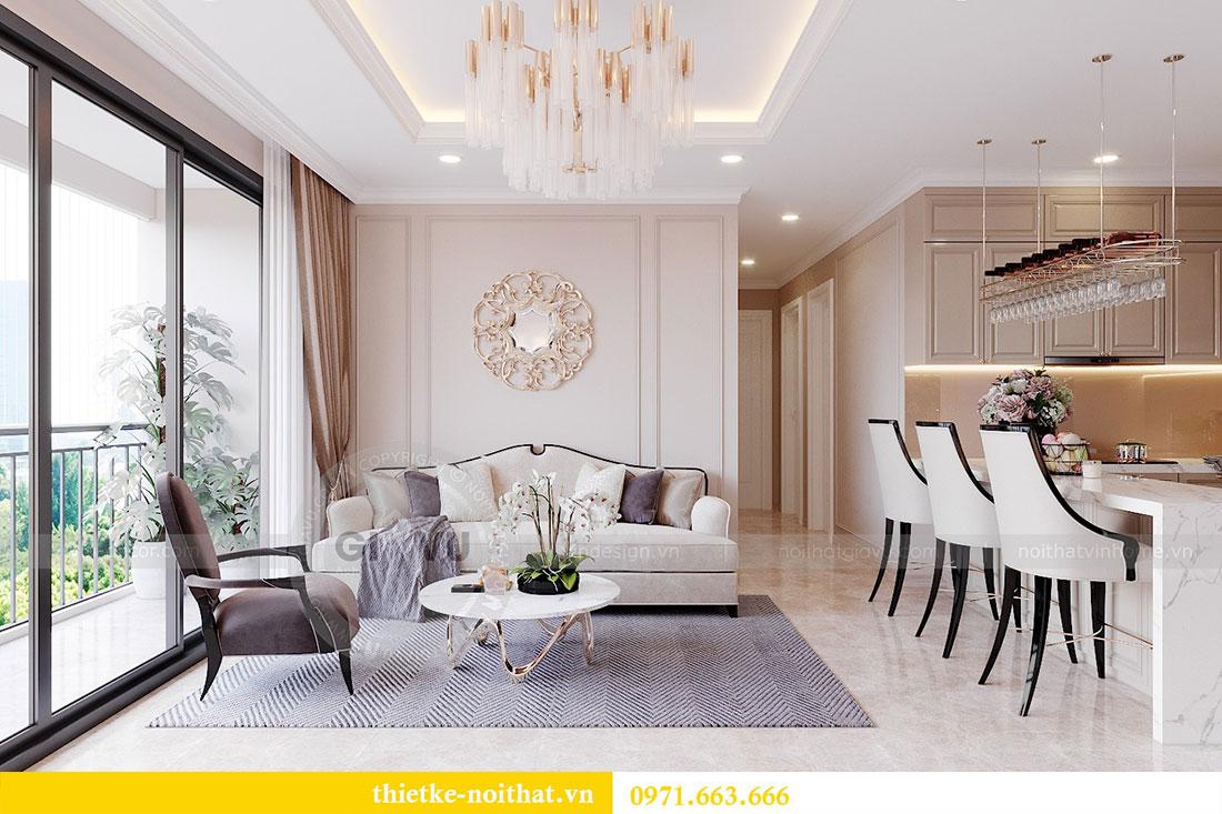 Mẫu thiết kế nội thất chung cư căn hộ 3 PN vạn người mê 4