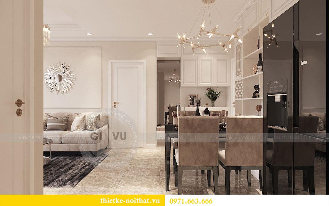 Thiết kế nội thất căn hộ 02 tòa C3 chung cư Dcapitale - chị Phương 3
