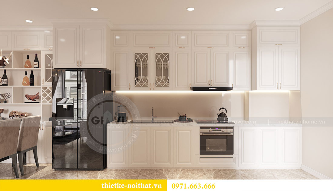 Thiết kế nội thất căn hộ 02 tòa C3 chung cư Dcapitale - chị Phương 4