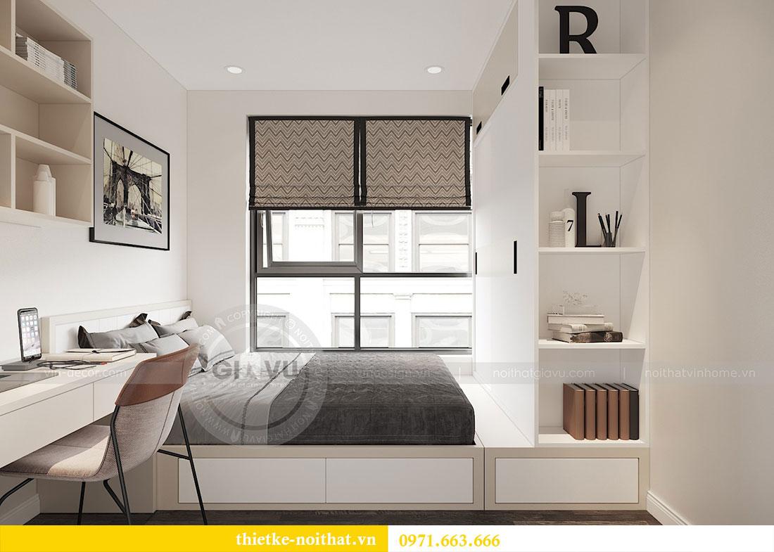 Thiết kế nội thất căn hộ 02 tòa C3 chung cư Dcapitale - chị Phương 6