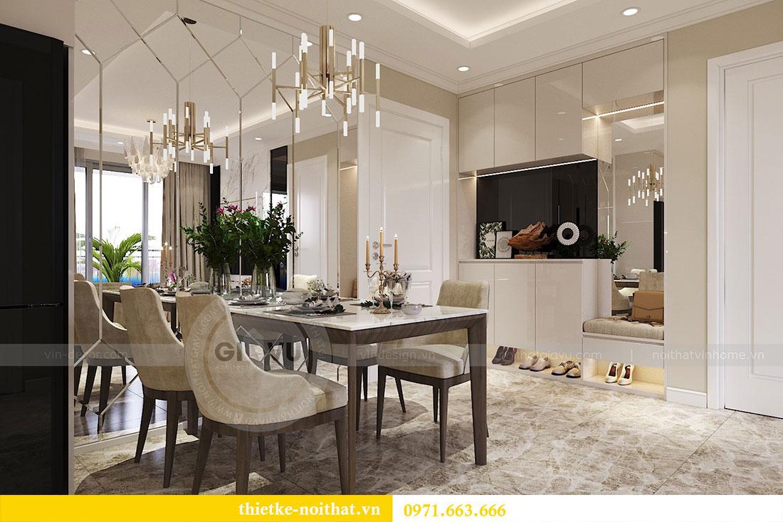 Thiết kế nội thất căn hộ 06 tòa C7 chung cư Dcapitale 1