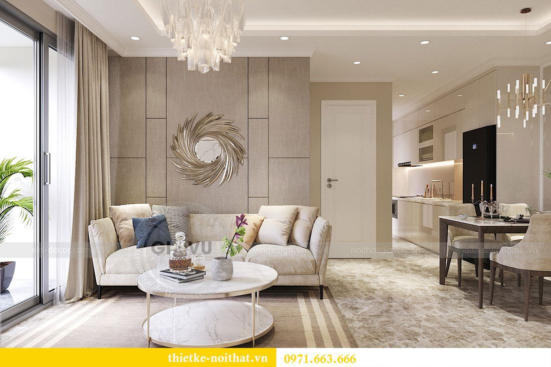 Thiết kế nội thất căn hộ 06 tòa C7 chung cư Dcapitale 4