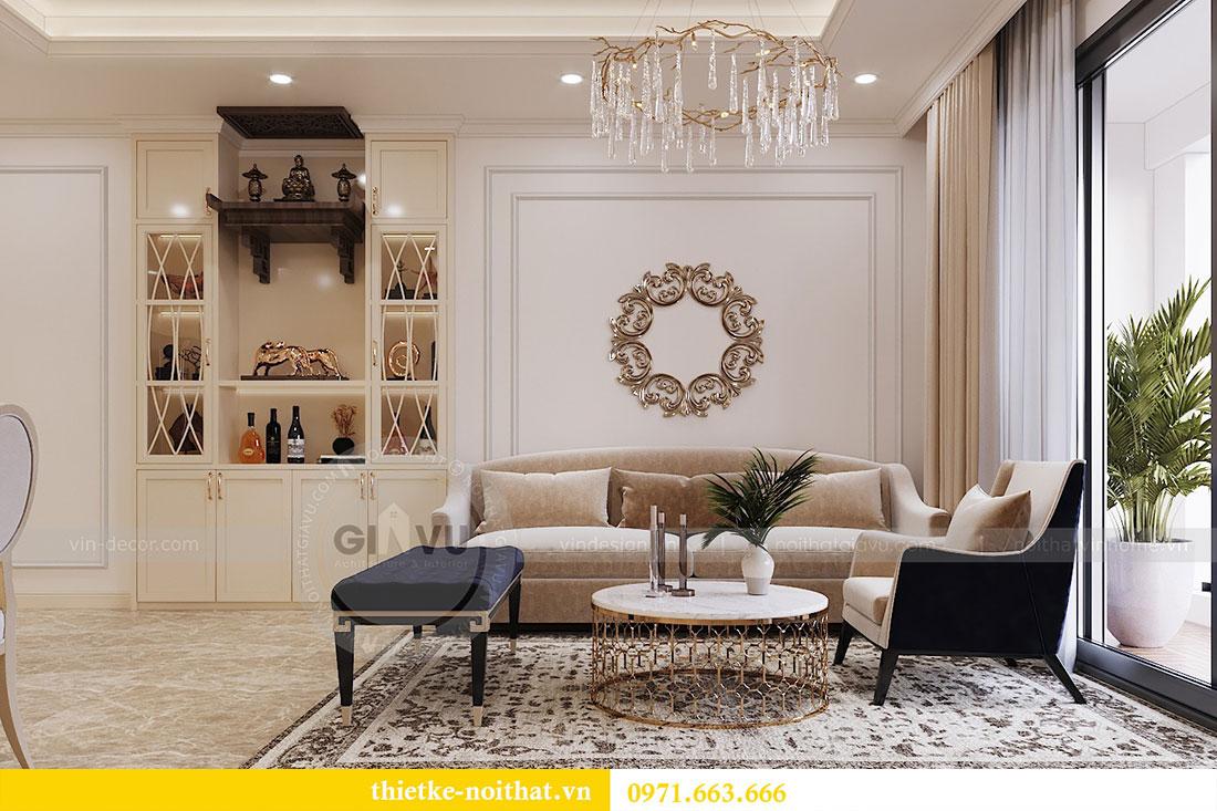Thiết kế nội thất chung cư trọn gói căn 3 ngủ - anh Chung 1