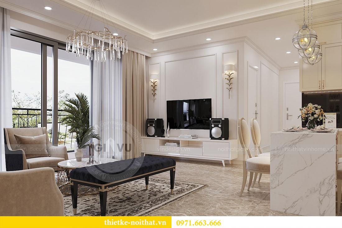 Thiết kế nội thất chung cư trọn gói căn 3 ngủ - anh Chung 2