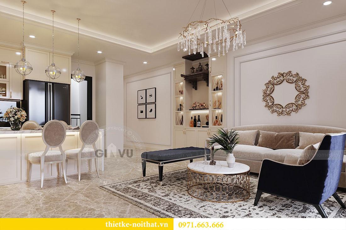 Thiết kế nội thất chung cư trọn gói căn 3 ngủ - anh Chung 3