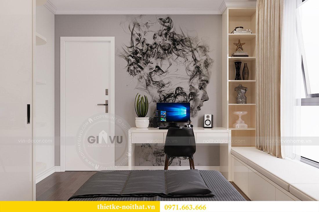 Thiết kế nội thất chung cư trọn gói căn 3 ngủ - anh Chung 5