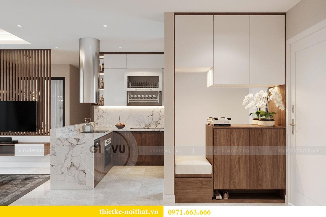Ý tưởng thiết kế nội thất hiện đại cho căn hộ 3 phòng ngủ - anh Đoan 1