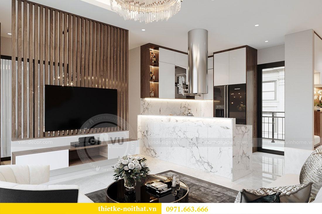 Ý tưởng thiết kế nội thất hiện đại cho căn hộ 3 phòng ngủ - anh Đoan 2