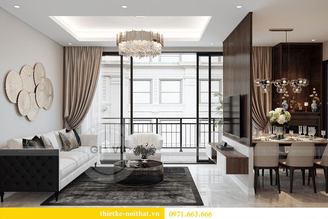 Ý tưởng thiết kế nội thất hiện đại cho căn hộ 3 phòng ngủ - anh Đoan 4