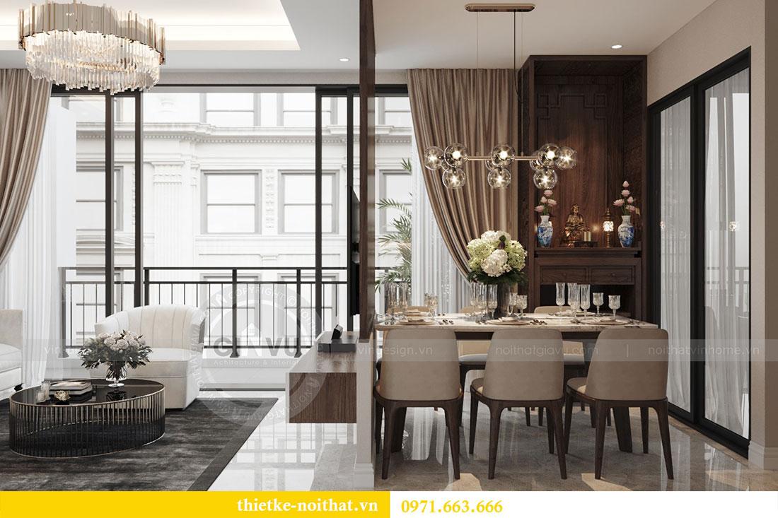 Ý tưởng thiết kế nội thất hiện đại cho căn hộ 3 phòng ngủ - anh Đoan 5